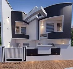 You can fix your home exterior design even if you do not have much money. In this article I am going to talk about the ways to improve your home exterior design. Appealing design will enhance the aesthetic values of… Continue Reading → 2 Storey House Design, Bungalow House Design, House Front Design, Small House Design, Cool House Designs, Modern House Design, Beautiful Modern Homes, Facade House, Classic House