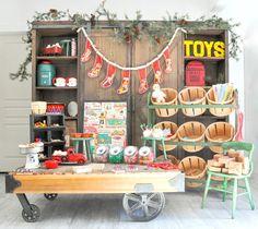 santa's workshop christmas party by kara's party ideas kara allen