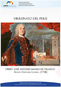 Virreinato http://carpetapedagogica.com/bancodepreguntas-virreinato.php