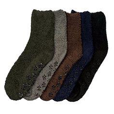 3~12pairs Women Girl Winter Socks Cozy Fuzzy Slipper Long Knee High Lot Solid