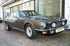 Aston Martin Lagonda Series 1 1974-75. The elegant William Towns styled Aston Martin DBS was given 4 doors and a stretched wheelbase to create the Aston Martin Lagonda, the first car since the 1961 Rapide to wear the Lagonda badge. It was not a success, largely due to the 1974 oil crisis, and only seven were sold. A worthy addition to any Lottery wish list. And clearly the motor for Austin Powers. Groovy, baby!