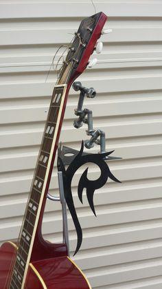 Guitar display stand .. custom .. TAA  ..The Amity Affliction