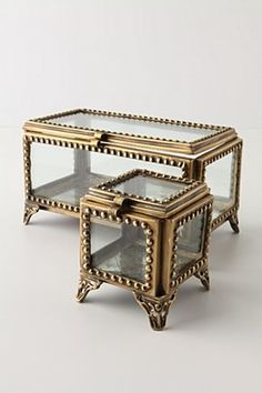 Thought this was a coffee and end table, how cute! It's trinket boxes - not so impressed anymore ;(