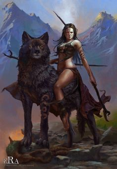 Wolf riders. The strongest and most dangerous of all warriors. Impossible to find even Harder to convince them to help you.