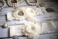 Hey, I found this really awesome Etsy listing at http://www.etsy.com/listing/159857745/vintage-inspired-bridal-garter-set-in