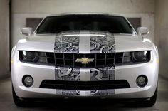 Chevrolet Camaro a puro marcador!!