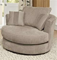 Swivel love seat. Next.