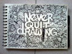 Geek Art Gallery: Illustration: Moleskine Doodles