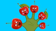 The Finger Family Cherry Family Nursery Rhyme