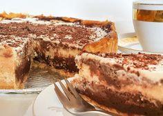 Mega čokoládový cheesecake