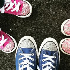 Family converse bling!