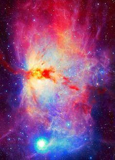 Flame Nebula.