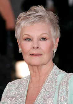 The beautiful and classy Dame Judi Dench.