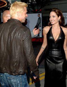 Brad And Angelina, Brad Pitt And Angelina Jolie, Angelina Jolie Photos, Jolie Pitt, Le Jolie, Jennifer Aniston, Brad Pitt Divorce, Brad And Angie, Mr And Mrs Smith
