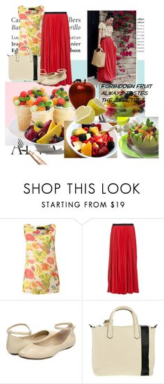 """forbidden fruit"" by analyst ❤ liked on Polyvore featuring Tiffany & Co., FRUIT, Zara, Pussycat, Enza Costa, Gabriella Rocha and Reed Krakoff"