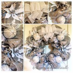 Order this wreath from Kathy's Kreations - https://www.facebook.com/KathysKreationsLLC or email Kathy at kathyskreationsllc@gmail.com