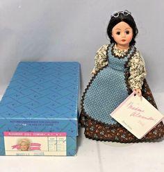 "Madame Alexander 10"" Marilla #261168 Anne of Green Gables Series w/ Box & Tag #MadameAlexander #Dolls"
