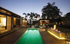 Piscina | Jardim com piscina | casa com piscina | casa pré fabricada | Pool | foto:  CLS Arquitetura _ Casa Cor Minas 2016 _Hemerson Gomes