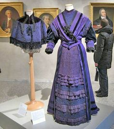 """From """"The female image in Milan from 1848 to 1914,"""" on view at Palazzo Morando in Milan."""