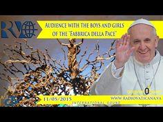 EN DIRECTO: El Papa se reúne con miles de niños de la Fabbrica della Pace