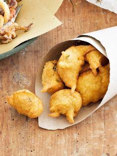 Coculli fritti di farina di ceci | Sale&Pepe