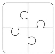 More Information Puzzle Pieces Template
