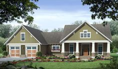 3 bedroom house plan pictures - HPG-1726-1