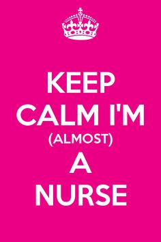 nursing student :) only two more semesters