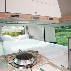 Bettmobil  Slideout Bed Box  VW T5  Hochdach Camper Bus  Campervan Rolf Hänle