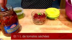 Recette Tupperware facile de Quinoa à la salsa Feta