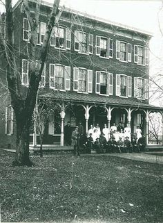 The second location for Lancaster General Hospital, in 1896, on the 500 block of North Lime Street.