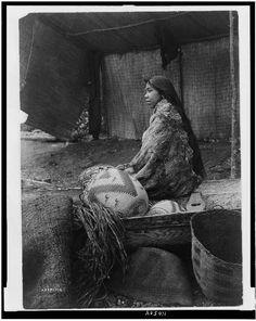 C.1913 Skokomish Indian Chief's daughter by InterestingPhotos, $7.95