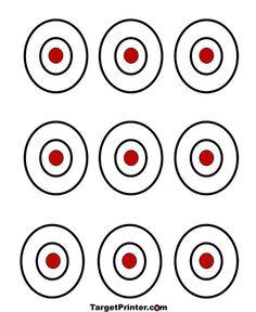 Pinterest the world s catalog of ideas for Bullseye template printable