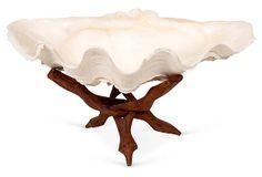 """Natural Clam Shell  -  12""""L x 4""""H  -  OneKingsLane.com  -  ($249.00)  $179.00"""
