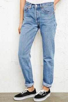 Vintage Levi's 501 Mid/ High Rise Womens Jeans 90's | Vintage ...