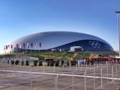 """The """"Bolshoy"""" Ice Dome, where a majority of the #Sochi2014 hockey games will be played   Flickr - Photo Sharing!"""