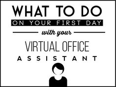 What a virtual office assistant should do on the first day of work. Learn how to hire the best virtual office assistants. Virtual Office Assistant, Long Term Goals, Global Real Estate, First Day Of Work, History, Business, Check, Projects, Log Projects