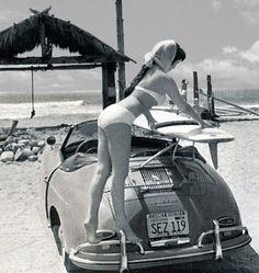 356 Surfer #porsche #cargirl