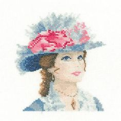 Maria Miniature Cross Stitch Kit - £14.25 on Past Impressions | by Heritage Crafts