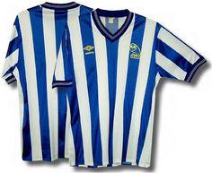 Sheffield Wednesday Retro Football, Football Shirts, Sheffield Wednesday Fc, Live Life Love, English Football League, Sport Fashion, Sports, Kit, Tops