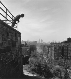 Fred Stein, Mount Morris Park, New York, 1945