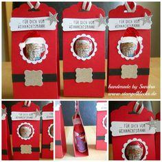 Ein Gruß vom Weihnachtsmann - Stempelklecks - Stempeln, Stanzen und Basteln mit Stampin' Up! -