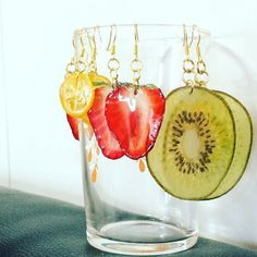 "Use real fruits as miscellaneous goods! ""Push fruit"" is cute . - epoxy resin - Use real fruits as miscellaneous goods! ""Push fruit"" is cute … - Cute Jewelry, Diy Jewelry, Handmade Jewelry, Jewellery, Uv Resin, Resin Art, Resin Jewelry Making, Diy Resin Crafts, Resin Flowers"