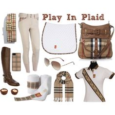 """Play In Plaid"" Riding Outfit"