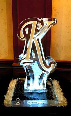 Ice Luge For A Wedding Reception Brought To You By The Letter K