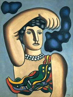 LEGER, Fernand, (1881-1955) French artist: -- 'Marie the Acrobat' - 1936.