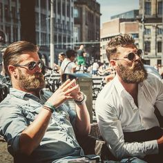 """Welcome to images of beautiful bearded men. To learn more about the man in a post, click where it says """"source. Hot Beards, Great Beards, Awesome Beards, Sexy Beard, Beard Love, Stubble Beard, Beard Styles For Men, Hair And Beard Styles, Hairy Men"""
