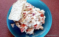 "Galilee Green Israeli Spicy Tuna Salad Supreme - I love my friend Chana! ""They"" say you can't make close friends later in life, but that is absolutely not true."