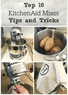 Top 10 KitchenAid Tips and Tricks - get the most out of your KitchenAid stand mixer with these tips, tricks and hacks for everything from maintenance to shredding chicken. Plus enter to win a KitchenAid mixer!