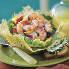 Lemon-Basil Shrimp Salad